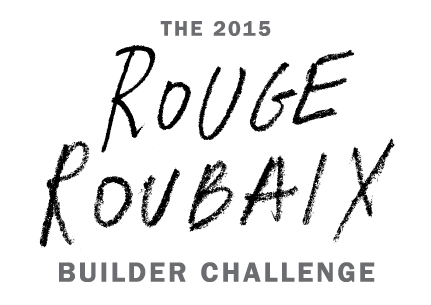 The 2015 Rouge Roubaix Builder Challenge logo